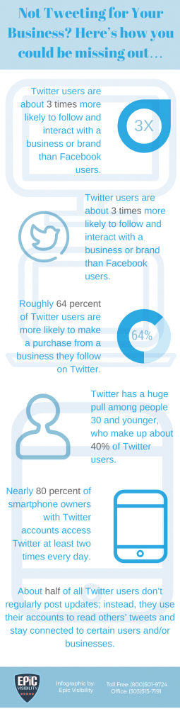 Social Media Marketing via Twitter, Infographic