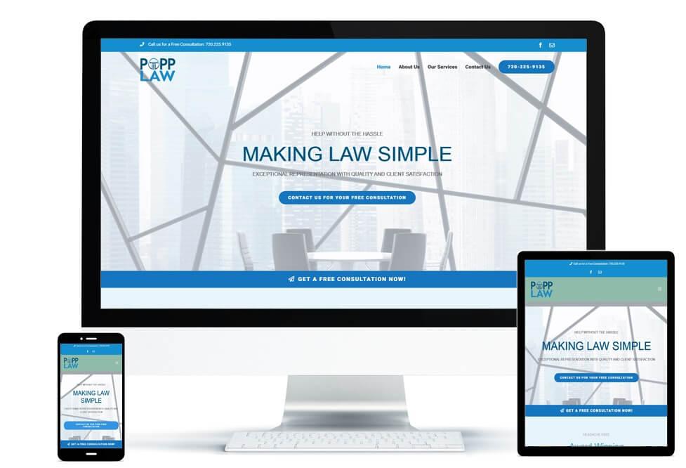 Popp Law portfolio set