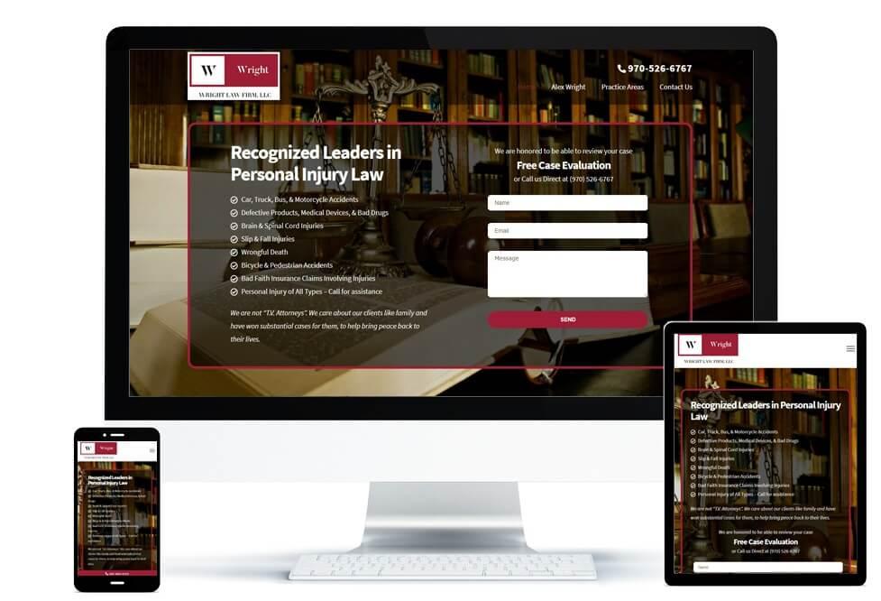 Wright Law Firm portfolio set